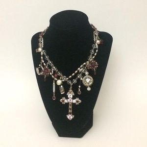 Elizabeth Page Charm Necklace